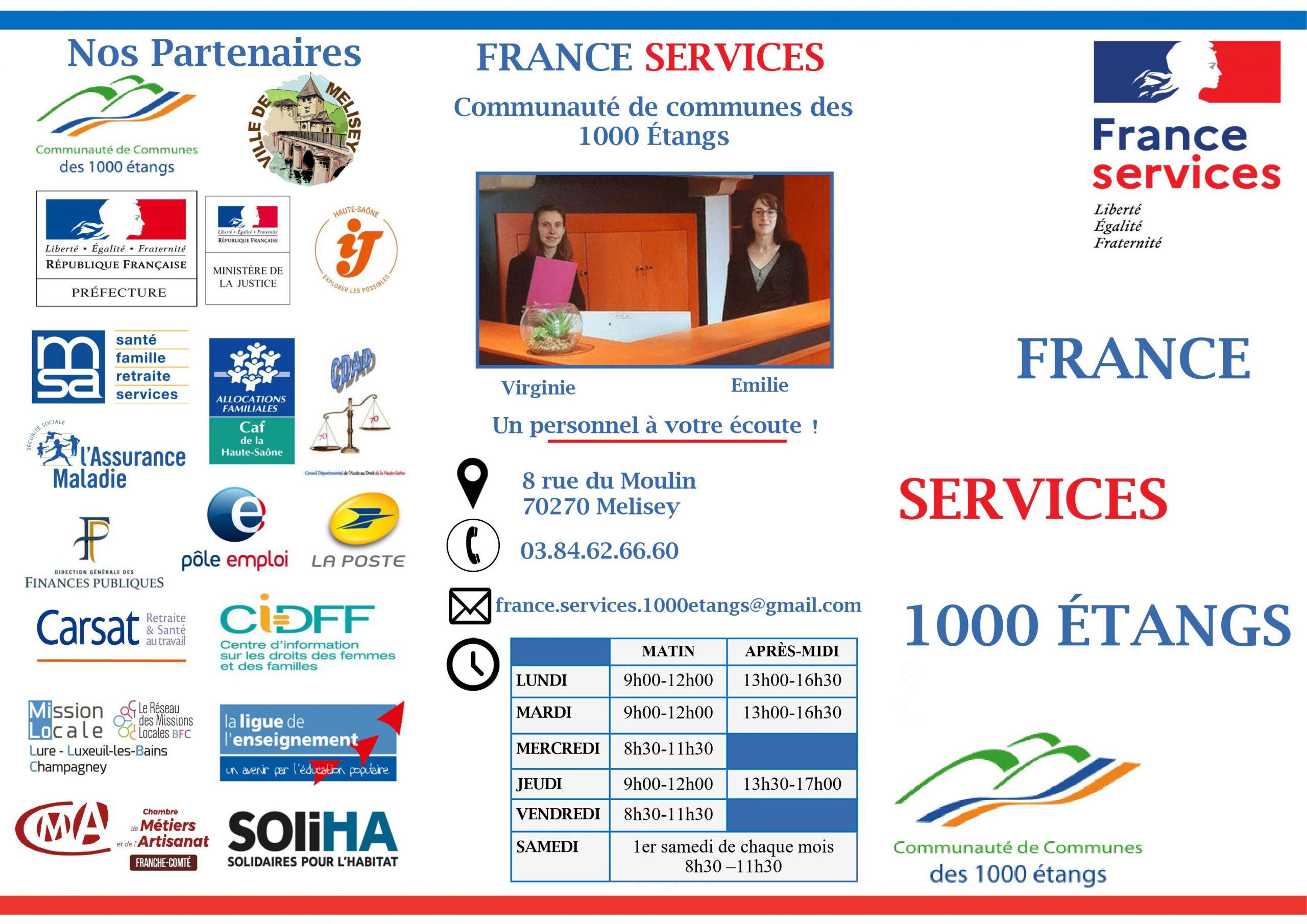 Dépliant maison france services